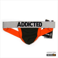 ad red - 4pcs Brand new addicted AD sexy men s men s briefs mens thongs g strings gay T back underwear cuecas mens underware underpants