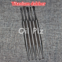 Wholesale Stainless steel e cigarette dabber tool titanium dab nail for wax dry herb glass ago g5 vgo skillet atmos micro atomizer vaporizer pen