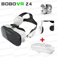Wholesale NEW BOBOVR Xiaozhai Z4 D Virtual Reality D VR Glasses vr box google cardboard oculos smart bluetooth gamepad game controller
