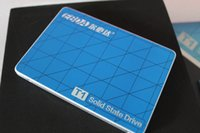 Wholesale New SATA G G SSD T1ASD120 MLCNAND Flash Memory Solid State Drive Aluminum Alloy Shell For Win10 Win8 Win7 XP