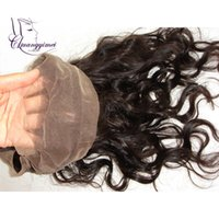 Wholesale New Arrival Lace Band Frontal Brazilian Human Hair Body Wave Lace Frontal Closure Bleached Knots quot x quot