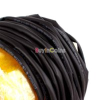 Wholesale 4x M mm Heat Shrinkable Tube Shrink Tubing Black Wire Wrap wire wrap tool wired keyboard and mouse