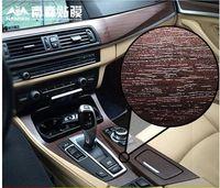 automotive dashboard - Automotive interior change color film acacia wood in the control dashboard stickers modification matte film sticks