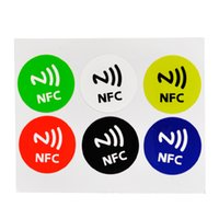 alarm stickers - NFC Smart Tags Sticker Chip Rfid Adhesive Label Alarm Clock Control For Samsung iPhone