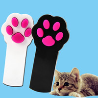 Wholesale 2016 Pc New Arrival Cat Claw Beam Interactive Laser Pointer Pet Cat Dog Amusement Toy