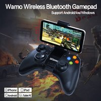 Wholesale Wamo Gaming Controller Bluetooth Classic Wireless Gamepad Joypad Compatible with iPod iPhone iPad Android IOS Smartphone Tablet PC