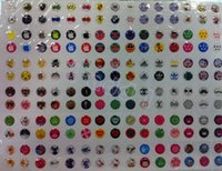 Wholesale 330pcs Home Button Stickers for iPhone s for Iphone S DIY Decoration for cell phone