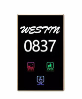 Wholesale Touch switch Hotel switch Intelligent Touch Switch Smart Hotel Number Plate Custom switch fashionable switch Waterproof switch