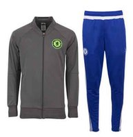 Wholesale Chelsea jacket soccer N98 jacket autumn and winter football appearance training suit long sleeved shirt suit