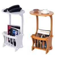 Wholesale Phone Stands Shelf Flower Petite Table at Tea Salon Magazine Rack Chevet