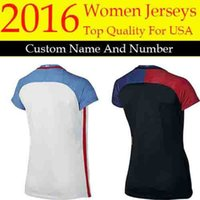 abby l - new2016 united states women soccer jersey AlEX MORGAN LLOYD female camisas abby WAMBACH black football shirts best quality