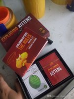 Wholesale 2016 Hot Original Exploding Kittens NSFW Version Black Box Playing Card Game About Kittens And Explosions And Sometimes Goats