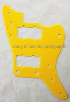 Wholesale For US Jazzmaster Guitar Pickguard Ply Yellow Acrylic