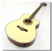 Wholesale 40 NEW guitars inch EQ Electric Acoustic Guitar Rosewood Fingerboard guitarra with guitar pickup tuner strings