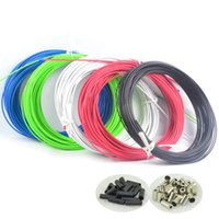 Wholesale Two meter JAGWIRE BRAKE HOUSING HOSE CABLE KIT BMX MTB ROAD BIKE COLORS Bicycle Gear Derailleur Brake Cable Hose Housing