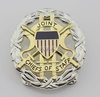 american ginseng - Metal badges of the US American ginseng Association identification badges joint chapter Silver Edition