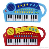 Wholesale 15 quot Keys Multifunctional Electronic Keyboard Music Organ Music Toy Educational Cartoon Electone Gift for Children Babies Kids