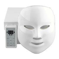 Wholesale 7Colors Korean LED Photodynamic Facial Mask Home Use Beauty Equipment Anti acne Skin Rejuvenation Photodynamic Masks Gold white style