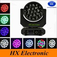 Livraison gratuite 19pcs haute qualité Bee Eye * 15W 4in1 zoom RGBW 260W LED Big Bee Eye Moving Lampe frontale Faisceau LED Lyres faisceau lumineux