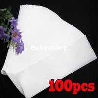 Wholesale 100pcs Pack Professional Wax Waxing Strips Hair Removal Paper Nonwoven Epilator SPA