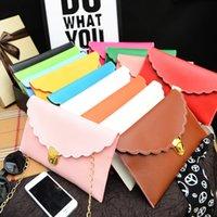Wholesale New Cheap Clutch Bags Envelope Clutch Chain Bag PU Leather Black Clutch Red Clutch Ladies Clutch Purse Messenger bag Small Shoulder Bag