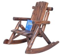 Wholesale Living Room Furniture High Quality Wooden Chair Rocking Garden Chair