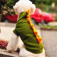 Wholesale Cheap Free Dog Clothes - Free shipping cheap dog clothes XS S M L XL change dinosaur clothing for pet fleece dog clothes for winter cute pet products