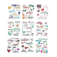 Wholesale CCINEE Clear Rubber Stamp Mulitcolor Transparent Stamp DIY Scrapbooking Card Making Decoration Supplies
