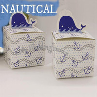 baby theme ideas - quot Square Nautical Theme Favor Boxes Baby Shower Birthday Party Bridal Shower Candy Boxes Anniversary Sweet Holder Ideas