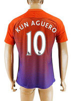 away team - Thai Quality EPL Club Team rd Away Soccer Jersey Shirts Kun Agüero Football Jerseys Tops Customized Thai Quality Soccer Jerseys