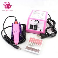 Wholesale 2016 Nail Drill Machine V EU Plug Manicure Accessories Pedicure Nail Pen Machine Kits Nail Tools