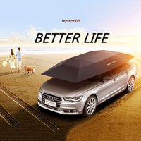 Wholesale New Arrival Auto Car Cover Exterior Accessories bumper Semi automatic Car Covers Remote control Automobile Car Sunshade Cat Tent