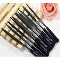 Wholesale 10x Needle File Set Files For Glass Metal Stone Jewelry Wood Carving Craft E00126 OST