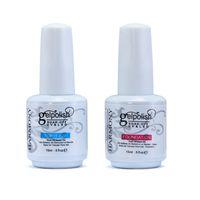 Wholesale Base Top Coat Nail Art Soak Off UV LED Gel Nail Polish Gelish ml Foundation Top it Off
