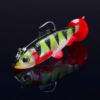 Wholesale 20pcs Fishing Lure Hooks g Package lead fish Artificial Lures Soft bait Fishing Hook Fishing Tackle