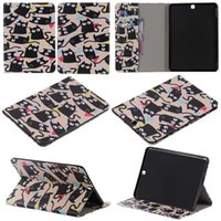 asus latest tablet - The latest style For Samsung T550 inch case Book style PU Leather Protective Skin Cover With Card Holder Tablet Accessories