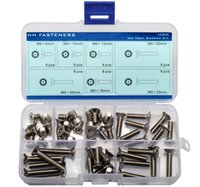 Wholesale M5 Pin in Torx Flat Head Security Screws Assortment Kit Stainless Steel pieces