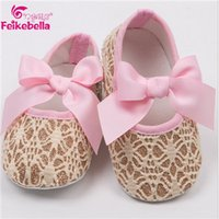 bebe cheap - pink shoes Cheap Baby Girl Flower Shoes Sapatos Baby Newly Born Babies Shoes Infant Girl Footwear Soft Chaussure Fille Bebe Boot