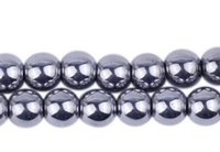 Wholesale New mm Good Silver Hematite Loose ball Beads Shamballa Findings Fit DIY Bracelet Bead for bracelet hotsale DIY Findings Jewelry good