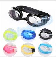 Wholesale new kid swimming goggles child swimming anti fog waterproof goggles eyewear