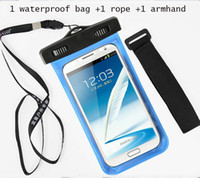 abs travel case - Durable PVC Phone Waterproof Case Underwater bag for iPhone S plus s SONY Samsung s7 S6 note5 htc one M10 Travel Pouch