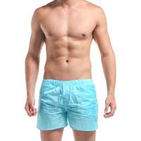 Wholesale Summer Beach Mens Surf Male Bath Large Size Brand Swimming Shorts Man Swimsuit Swimwear Sexy Bermudas Swim G404