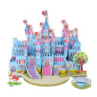 Wholesale 3D Puzzles Toy Toys Kids Toys Paper Puzzle Pieces Building Puzzle Brain Children Puzzle Color Funny Puzzle Construction Funny Toys