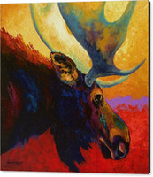 alaskan animals - The art of printing high quality decorative painting alaskan spirit moose