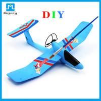 2016 Nuevo diseño de bricolaje Juguetes avión planeador Avión Avión de bricolaje inalámbrica Uplane Romote controlada avión Desde Majestad
