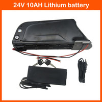 Wholesale W New Bottle V AH Lithium battery V Electric Bike Battery with USB Port BMS A charger
