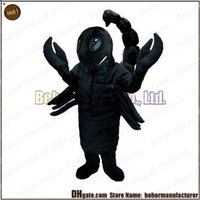 accept music - Scorpion mascot costume high quality cheap plush Scorpion mascot cartoon set adult type we accept customized mascot
