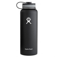 bicycle cross country - 2016 New Arrival oz oz Water Bottle Hydro Flask cups Vacuum with Flat Cap Stainless Steel HYDRO FlASK Wide Mouth Bottles
