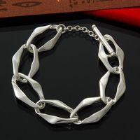 aegean silver - Women s Sterling Silver Toggle Aegean Bracelet quot