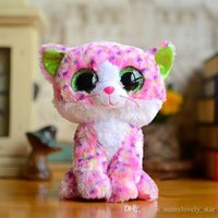 baby green dragon - Ty Beanie Boos Plush Toys Beanie Babies Camouflage Owl Pink Dolphin Turtle Penguin Green Dragon Stuffed Animals Soft Baby Dolls